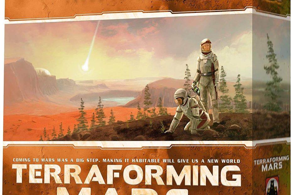 orming Mars – helppo ja taktinen tiedepeli