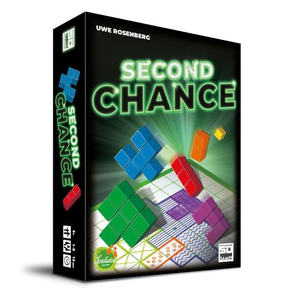 Second Chance – viihdyttävä lautapeli, joka vaatii älykkyyttä