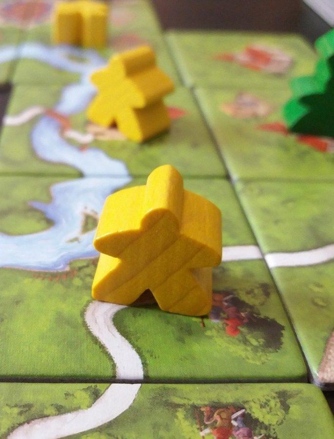Carcassonne pelin pelinappulat